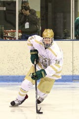 Stefan Frantti scored twice for Howell in a 5-4 overtime victory over Farmington.