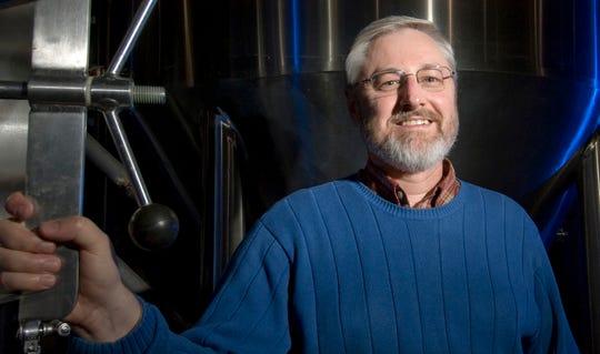 MSU Professor Kris Berglund at Michigan Brewing Company.