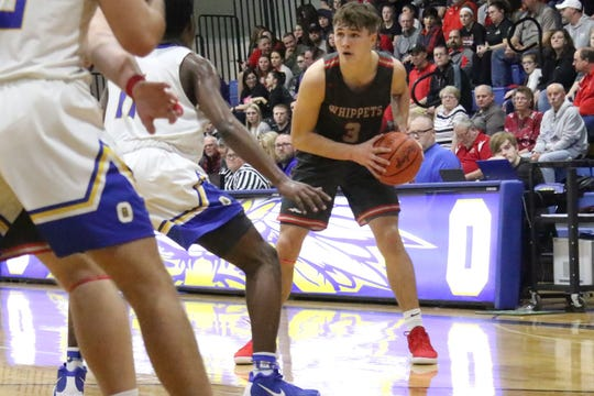 Shelby's Uriah Schwemley led the Whippets to an 11-11 record and a No. 8 finish in the Richland County Boys Basketball Power Poll.