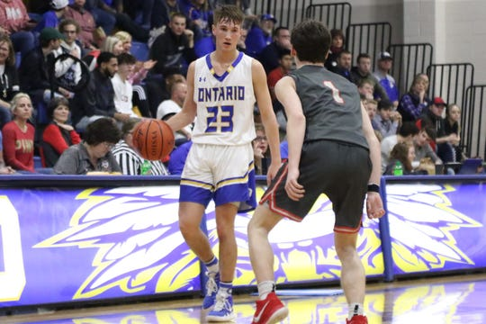 Ontario's Griffin Shaver scored a team-high 24 points in a win over Bellevue to give the Warriors five straight victories.