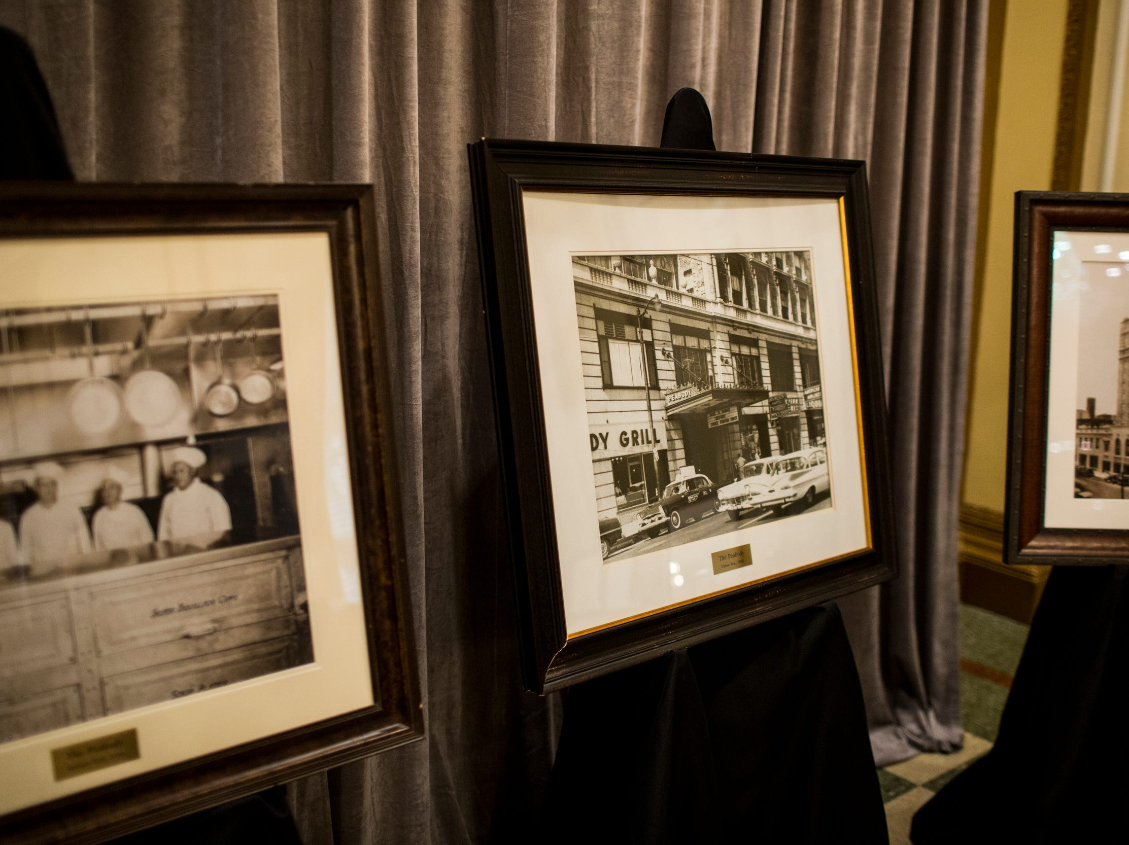 February 06, 2019 - Historic photos were on display during The Peabody 150th anniversary media launch party. The Peabody Memphis will celebrate its 150th anniversary in 2019 with a series of special offers and events.