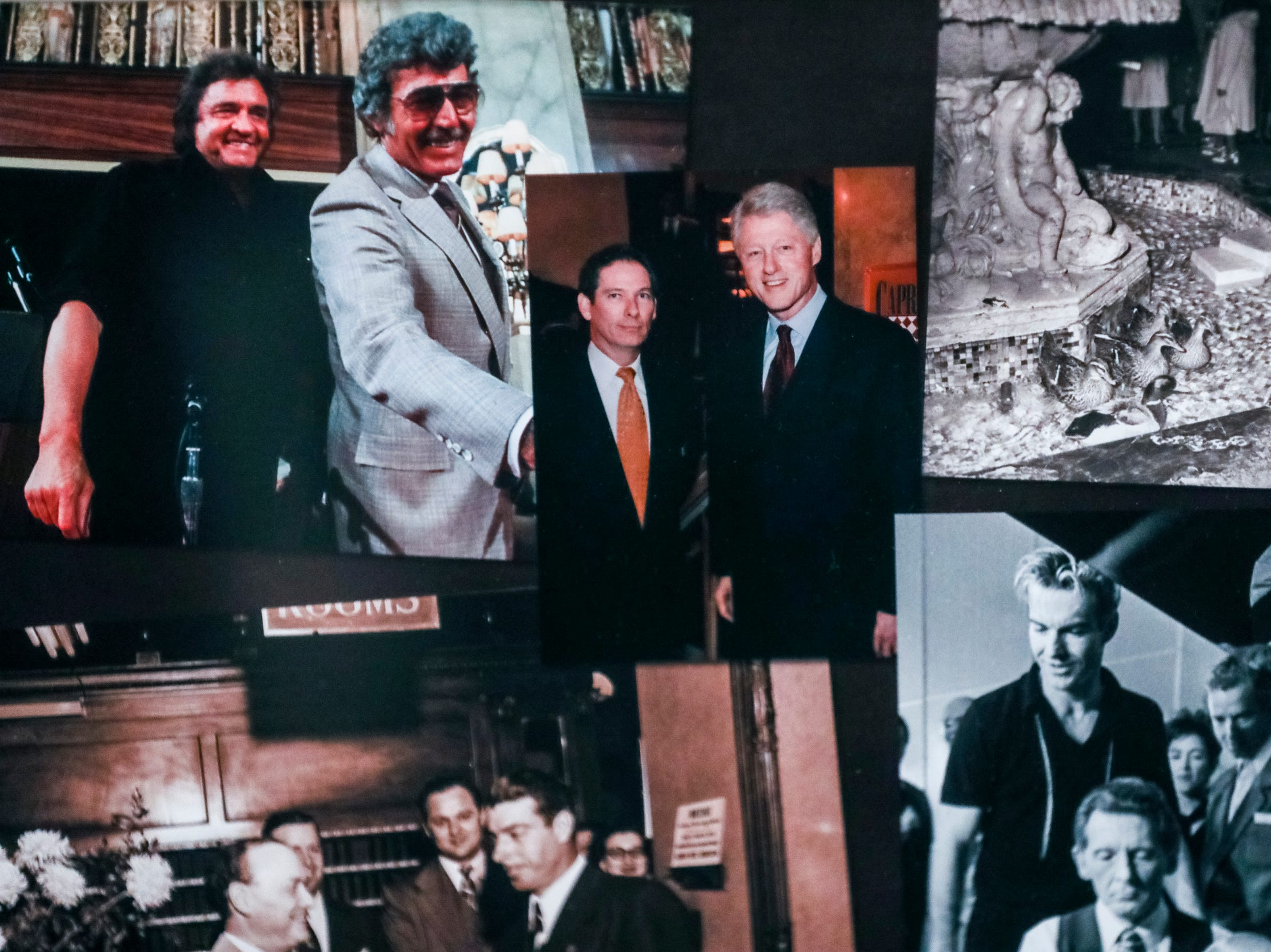 February 06, 2019 - Photos of famous visitors to The Peabody were on display during The Peabody 150th anniversary media launch party. The Peabody Memphis will celebrate its 150th anniversary in 2019 with a series of special offers and events.