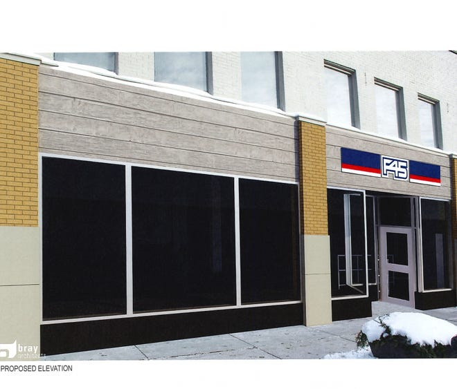 F45, a new fitness studio, is planned for a vacant storefront in the Downer Avenue Historic District.