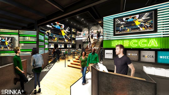 The Milwaukee Bucks will name their new sports bar outside Fiserv Forum The MECCA Sports Bar and Grill.
