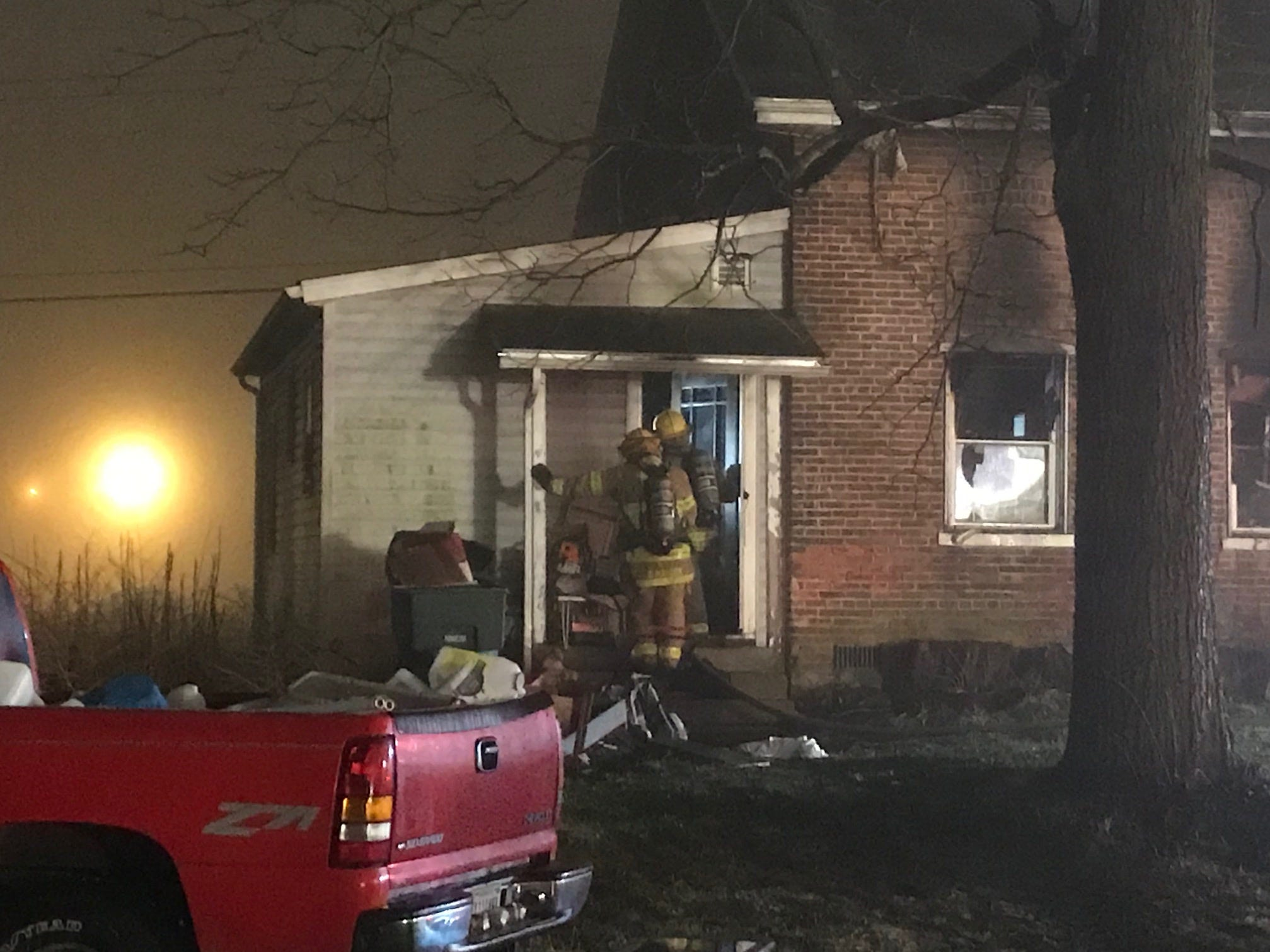 A Muncie child died early Thursday after a fire broke out in his family's home, in the 3600 block of South Walnut Street.