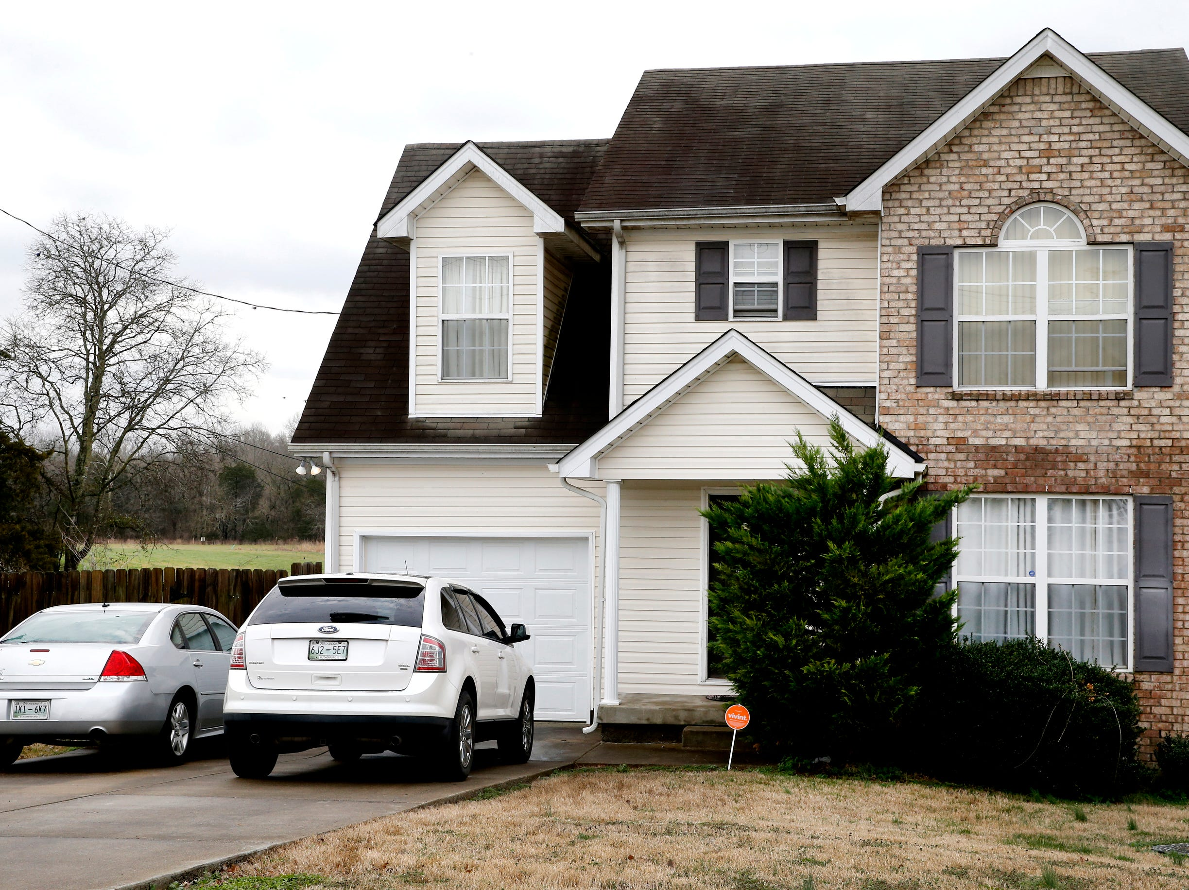 This home on the 200 block of Breeze Drive is the location where an officer-involved deadly shooting took place on Thursday, Feb. 7, 2019.