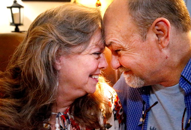 Cherry and David Rogers, who have been married close o 50 years, talks about their marriage on Tuesday, Feb. 5, 2019, and give tips to having a long marriage.
