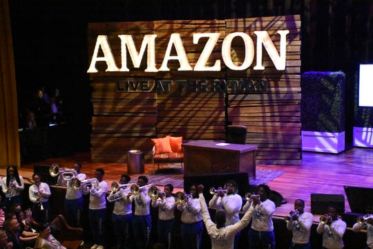 Tennessee State University students perform at Amazon: Live at the Ryman