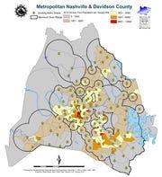 Nashville tornado warning siren locations