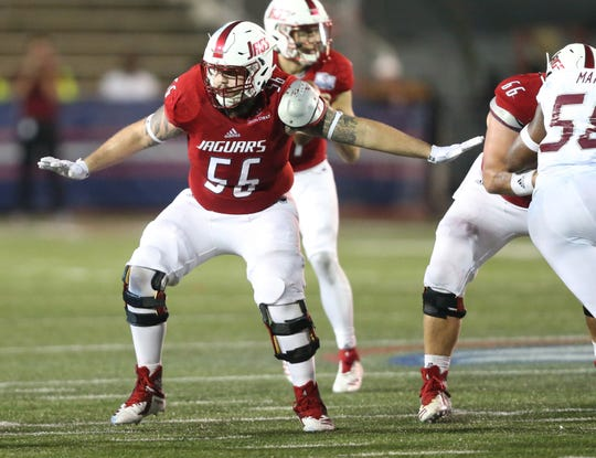 South Alabama offensive guard Rowan Godwin will play at Vanderbilt in 2019 as a graduate transfer.