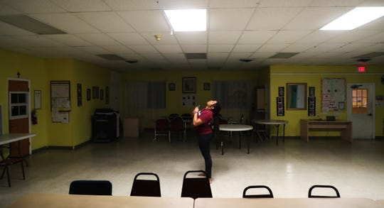 Marjory Stoneman Douglas High School senior Mei-Ling Ho Shing, 17, rehearses a lyrical praise dance at the Village United Methodist Church in North Lauderdale on Tuesday, Feb. 5, 2019. She was in the building where 17 people were shot and killed at the school Feb. 14, 2018. A year later she is struggling with the aftermath but has also stepped forward as an activist and voice against gun violence in minority communities among other things. She plans on honoring the victims of the shooting with the dance.