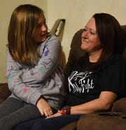 Sydney Gunton talks about her stay at Nationwide Children's Hospital while sitting with her mom Jennifer Gunton. After severe headaches Sydney was found to have a brain aneurysm in January of 2019.