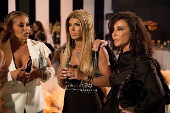 "Dolores Catania, Teresa Giudice, Danielle Staub of ""The Real Housewives of New Jersey"""