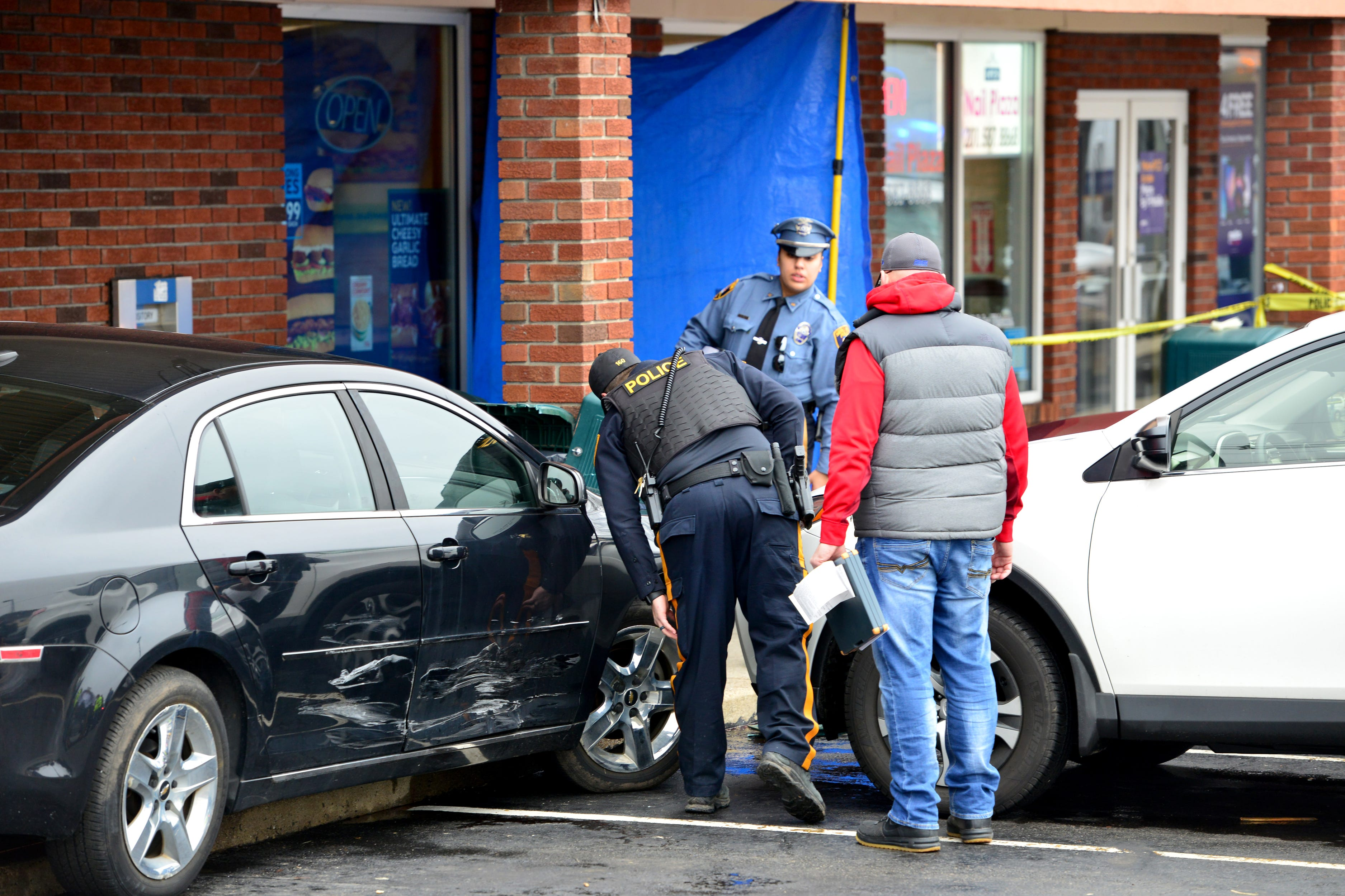 Man struck and killed by car in front of Saddle Brook bank