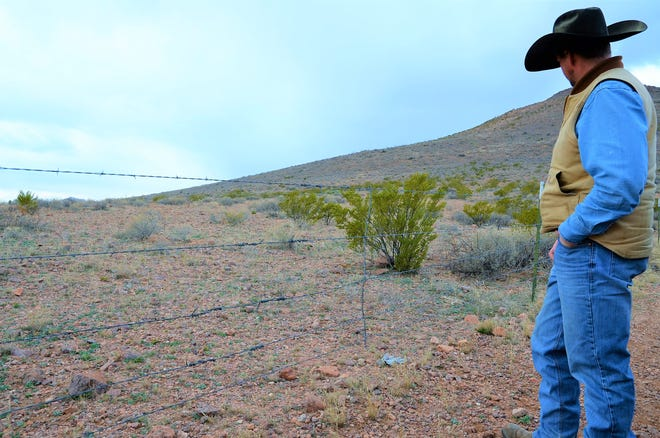 Russell Johnson, a cattle rancher whose property sits at the edge of the U.S.-Mexico border, said he supports the wall or any type of barrier that will limit the incoming traffic of immigrants coming onto his property.