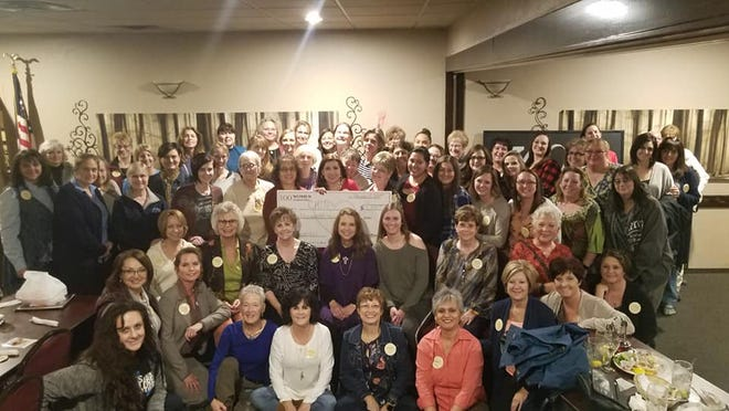 At their Feb. 5 meeting, 100 Women Who Care awarded CHINS with a $11,100 check.