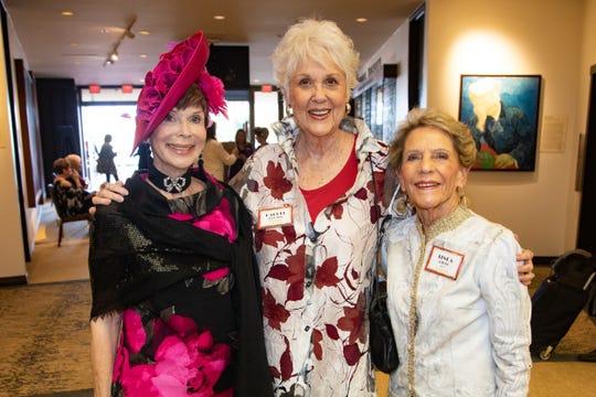 l to r Terri Neuman, Rachel Druten, and Linda Rider