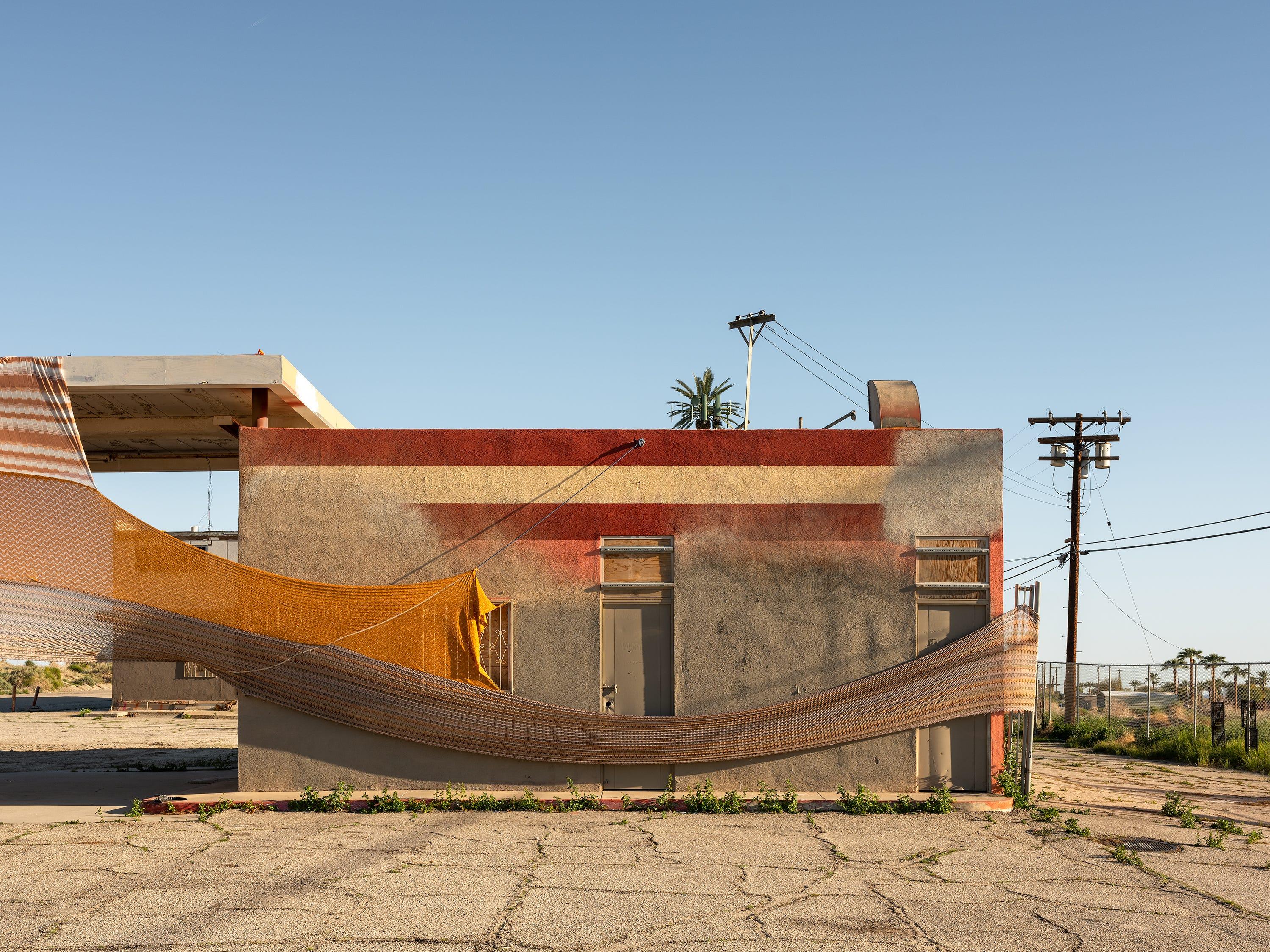 """""""Halter"""" by Eric N. Mack for Desert X 2019"""