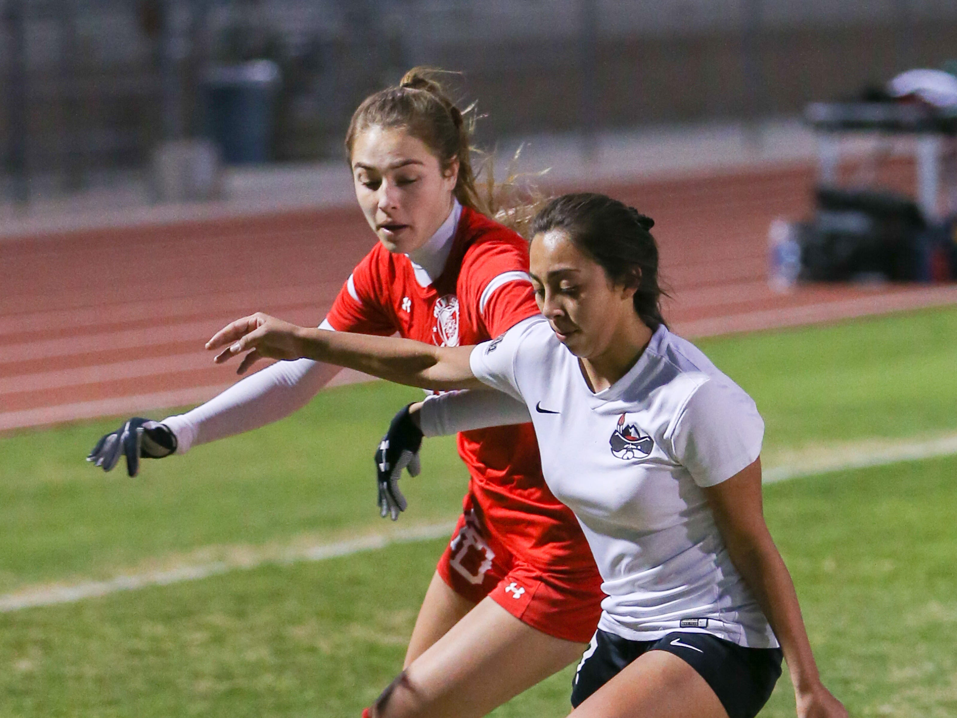 The Palm Desert varsity soccer team won Wednesday's home playoff game against Miller by a score of 5-1.