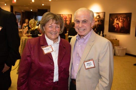 l to r: Mayor of Palm Desert Susan Marie Weber and Desert Regional Medical Center Board Chairman Mitch Blumberg