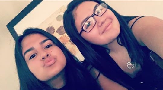 A photo of Yuliana Garcia, left, and her cousin Chavelita Morales, right. Garcia was killed in a quadruple homicide in Palm Springs on Feb. 3, 2019. She was driving a green Toyota Corolla.