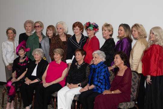 VISIONAIRES Board Members l to r front row: Terri Neuman, Anne Hopkins, Barbara Klein, Judith Antonio, Louise Escoe, Flo Wolff;  back row: Linda Rider, Marlene Cox, Terri Childs, Jean Carrus, Jennie Inch, Sue Fromkin, Judy Mathes, Irma Smith, Chris Metz, CJ Westrick-Bomar