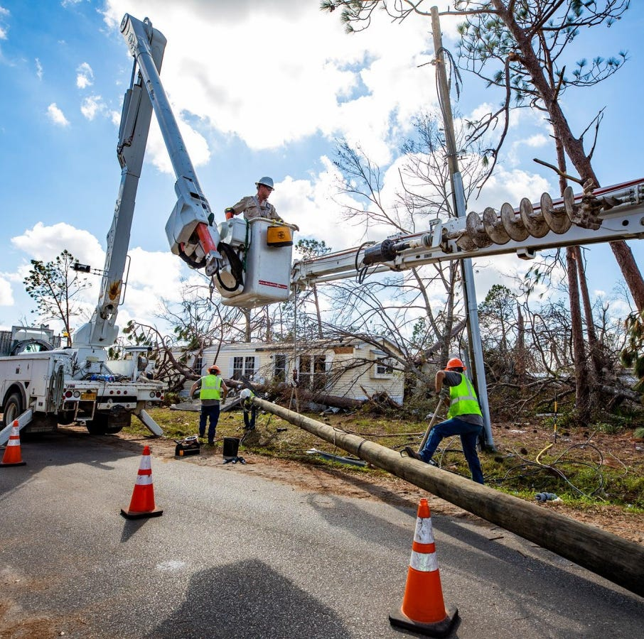 Gulf Power will add $8 per 1,000 kWh 'storm charge' for Hurricane Michael recovery costs