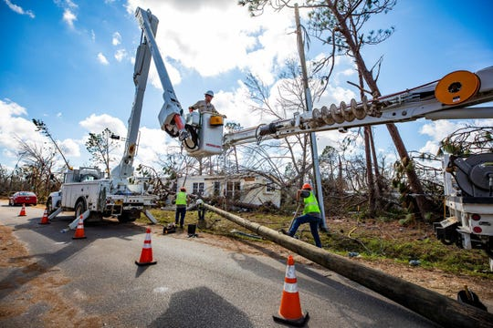Gulf Power has asked the state Public Service Commission to approve a plan to collect an estimated $342 million from customers to cover costs related to Hurricane Michael. The proposed increase would translate to about $8 a month for a residential customer who uses 1,000 kilowatt hours a month of electricity.