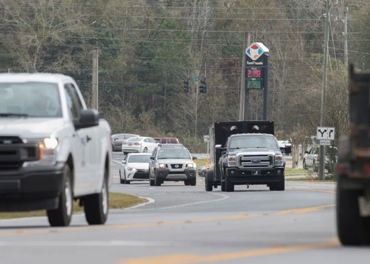 A group of Woodbine Road residents say they are fed up with traffic problems on the road and want the county to take steps to relieve congestion.