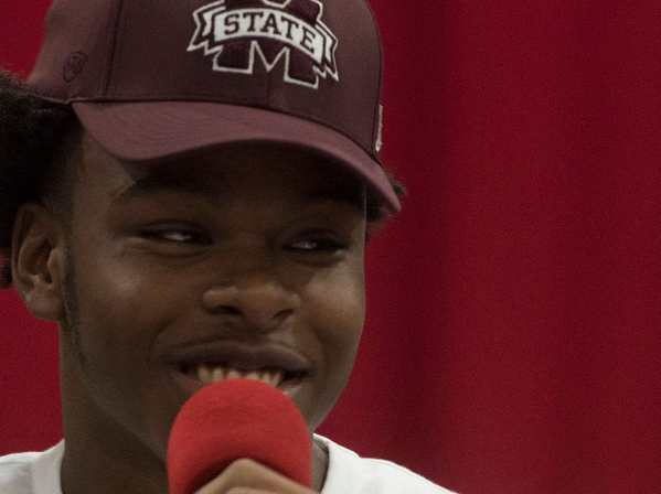 Martin Emerson inked his letter of intent to join Mississippi State, which ranks No. 28 in the Associated Press poll.