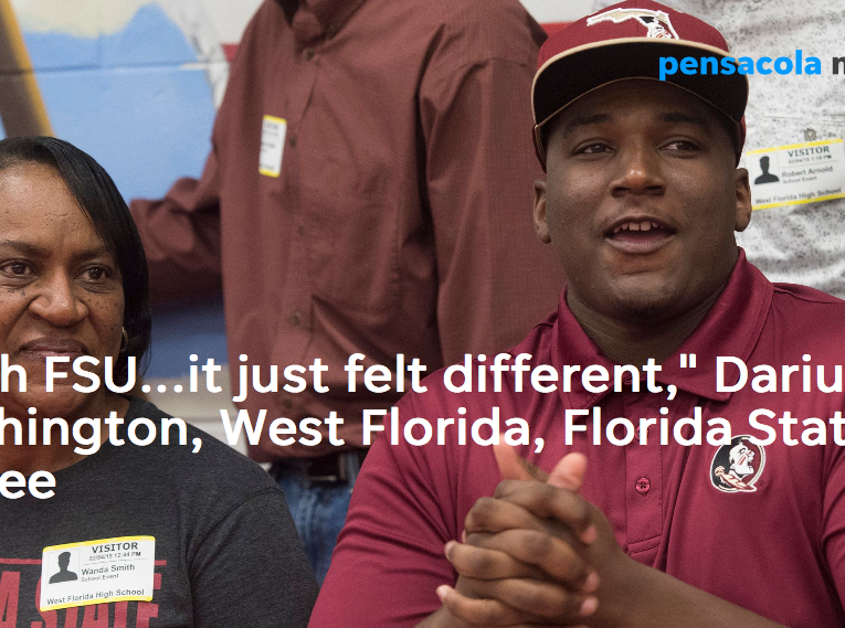 Darius Washington signed with Florida State, choosing the Seminoles from a field of 32 offers.