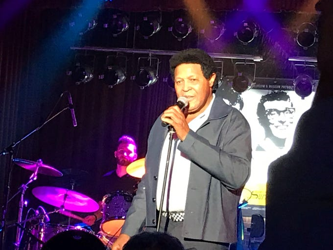 Chubby Checker was the headliner of the 2019 Winter Dance Party.