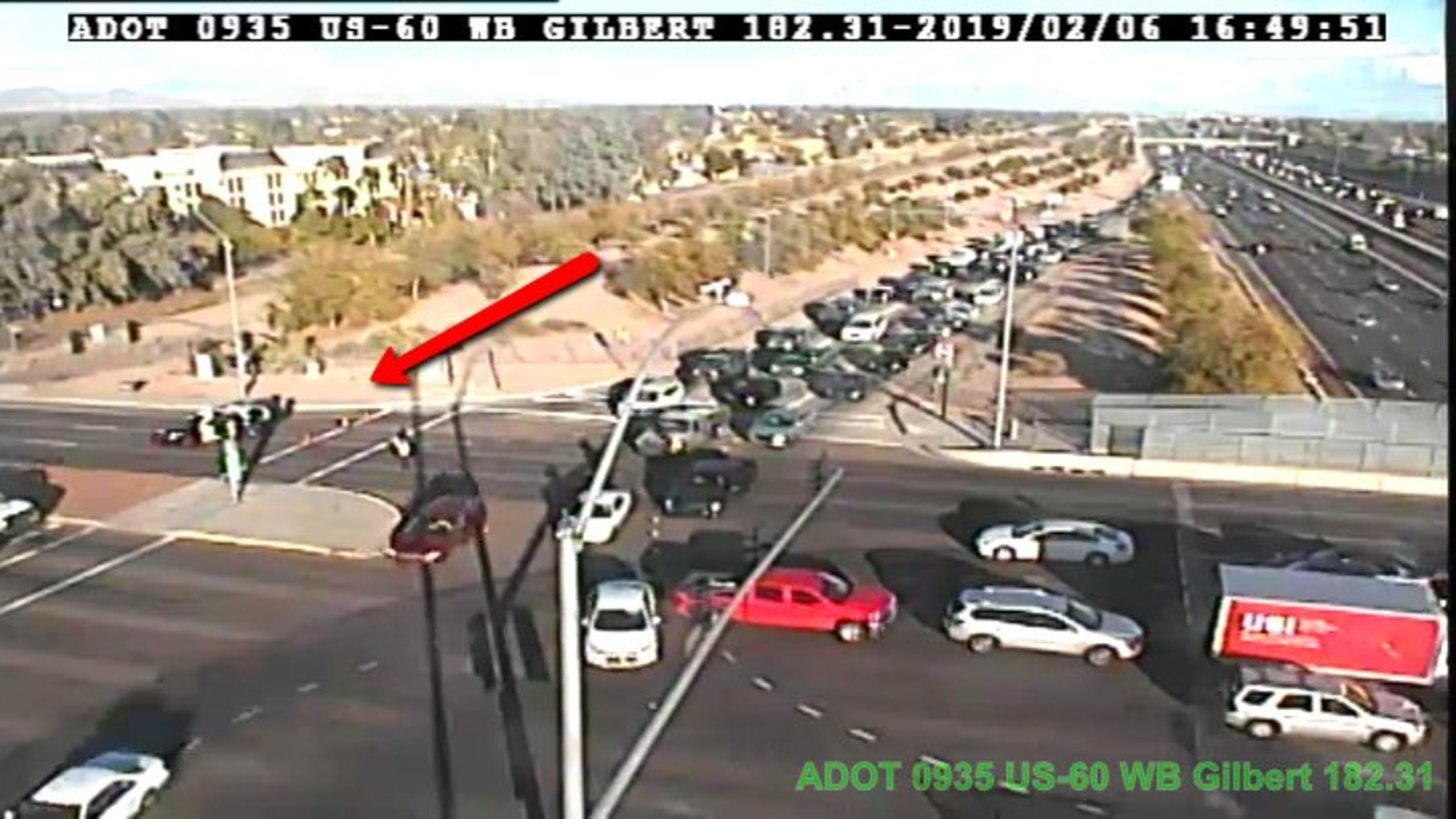 serious motorcycle crash restricts traffic exiting u.s. 60 in mesa