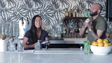 Azcentral dining reporter Lauren Saria learns how to make one of her favorite drinks from Across the Pond's mixologist Joshua James.