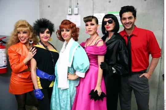 Actores y actrices del musical Mentiras.