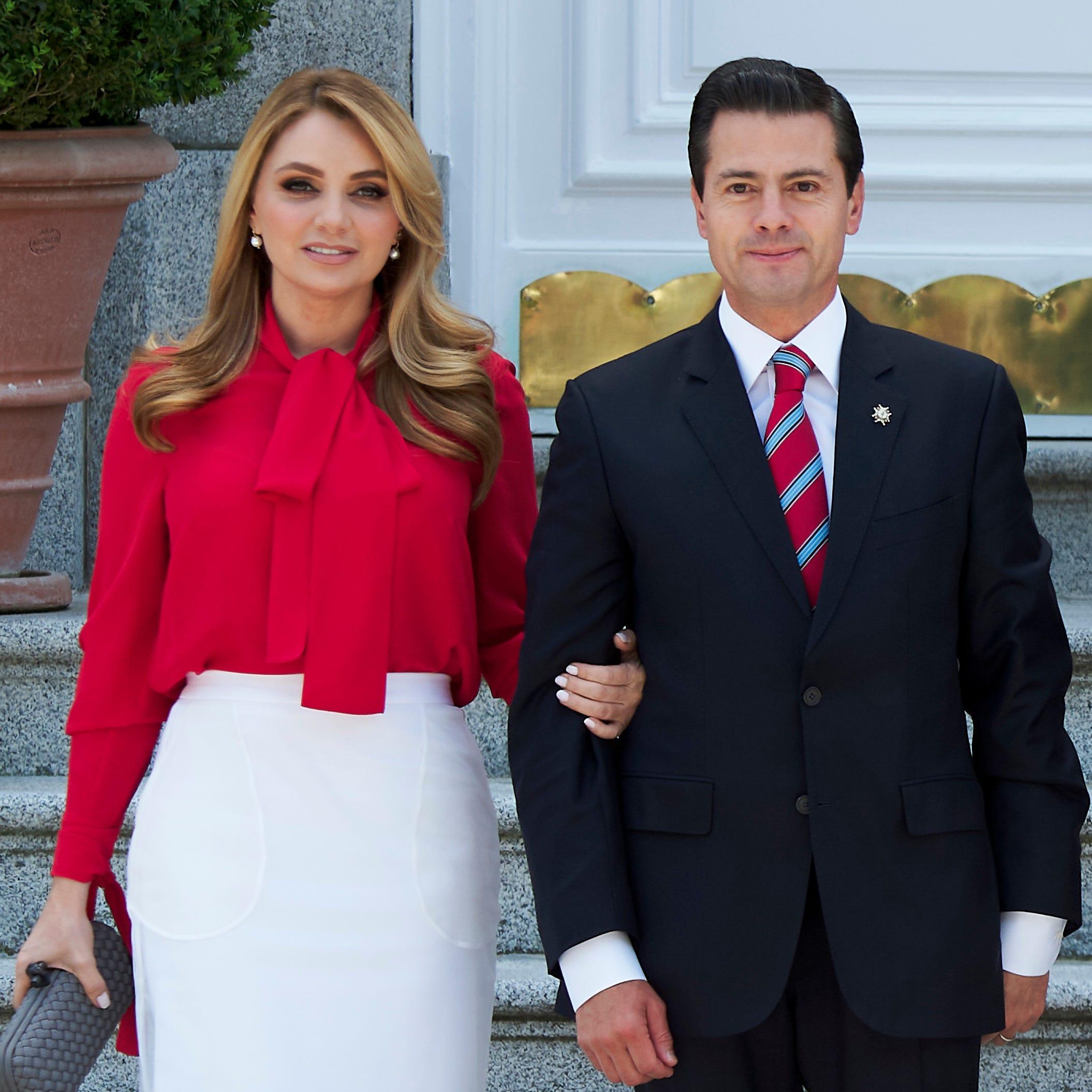 Angélica Rivera anuncia su divorcio de Enrique Peña Nieto