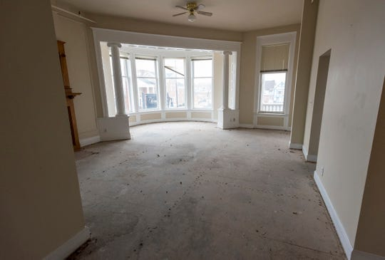 The Hotel Harrington will have five large corner suites, in addition to eight larger rooms. In total, the hotel will have 82 guest rooms once renovations are complete.