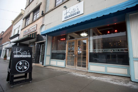 Kate's Downtown in downtown Port Huron is one of the businesses that received grant money from the Michigan Small Business Relief Program.