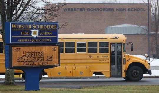 Webster Schroeder High School  Thursday afternoon after school.