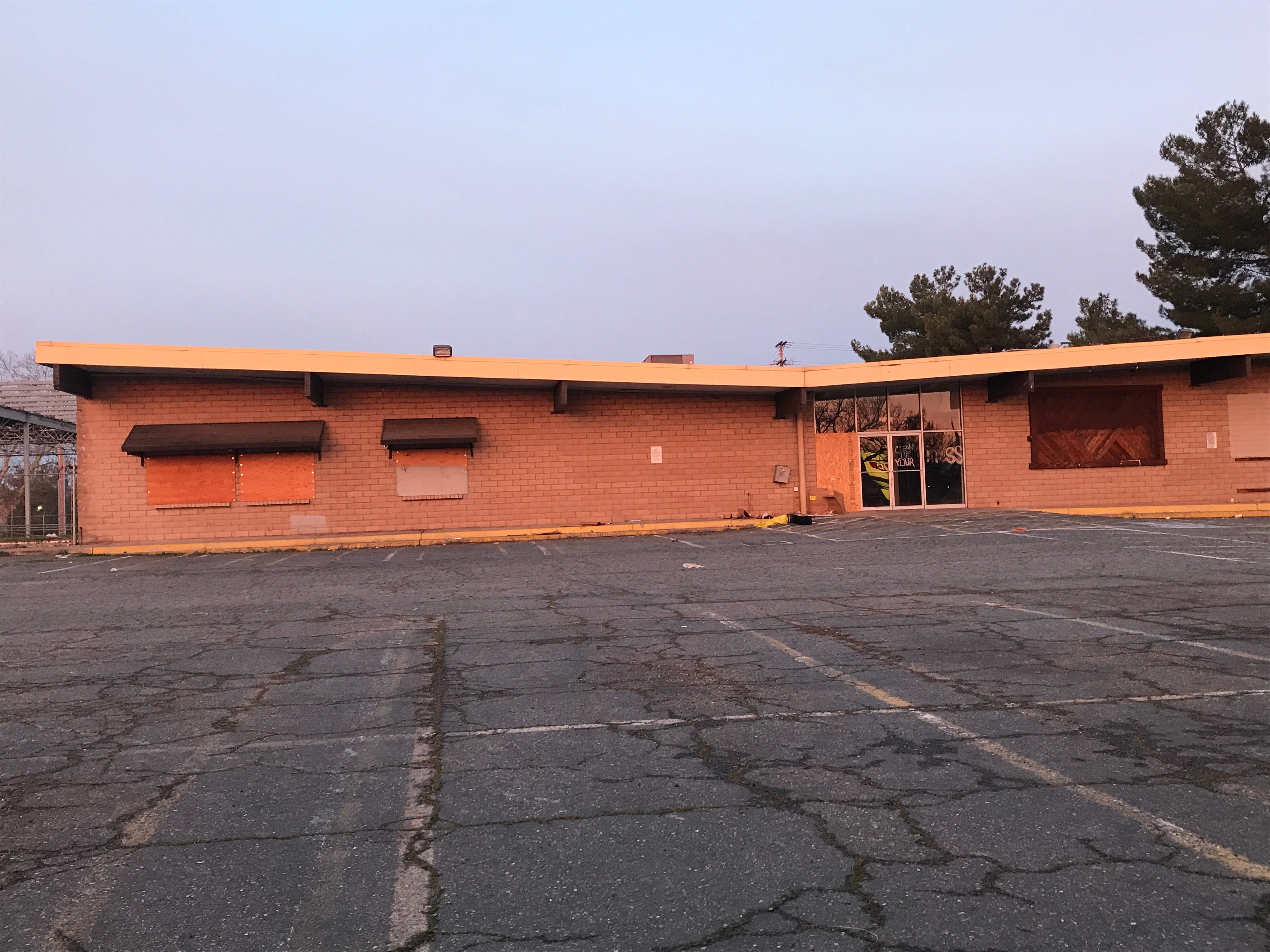 The BI-More store on East Cypress Avenue has sat empty since 2010.