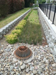 Stormwater filtration planters are examples of the type of on-site stormwater retention projects that would be required of developers in smaller cities under the new permit.