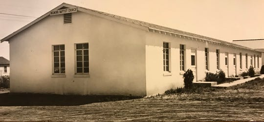 The original Belmore Baptist Church was constructed in 1952, and added onto soon after, as seen in this 1954 file photo.