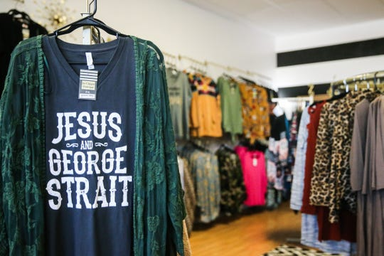 So Unique Boutique sells clothing and accessories with a Western theme.