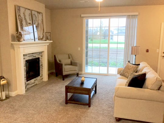 Snapshots of the new Meadowlark Estates in the Town of Sheboygan.