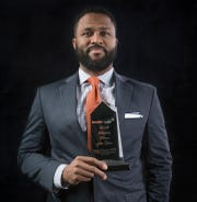 Isaac Palmer, CEO of CHRISTUS Shreveport-Bossier Health System, was named the Bossier Chamber's 2018 Business Person of the Year