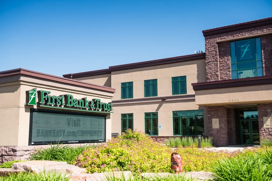 First Bank & Trust's branch location at 2300 W. 57th St. in Sioux Falls.