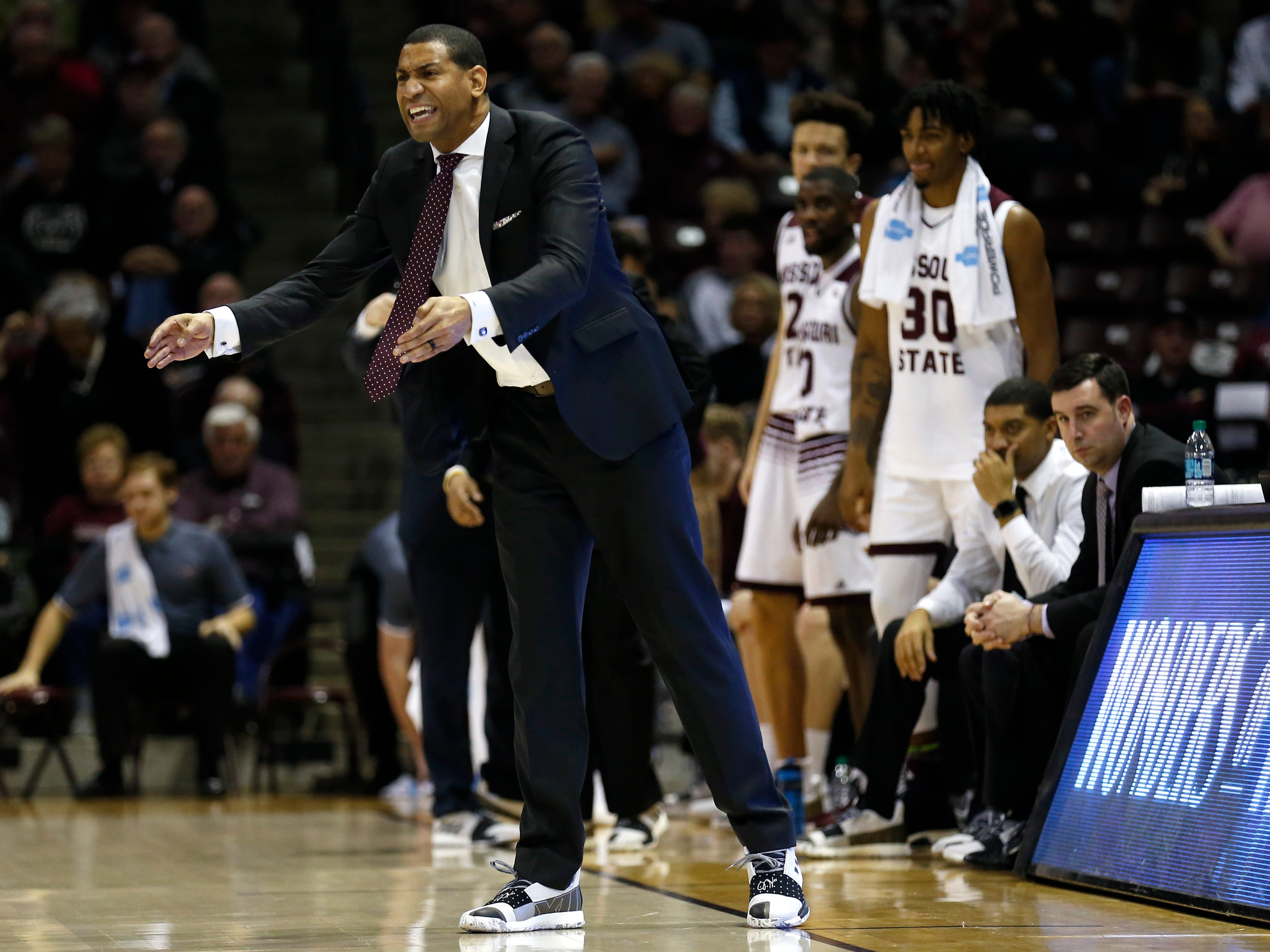 The Missouri State Bears take on the Southern Illinois Salukis at JQH Arena on Wednesday, Feb. 6, 2019.
