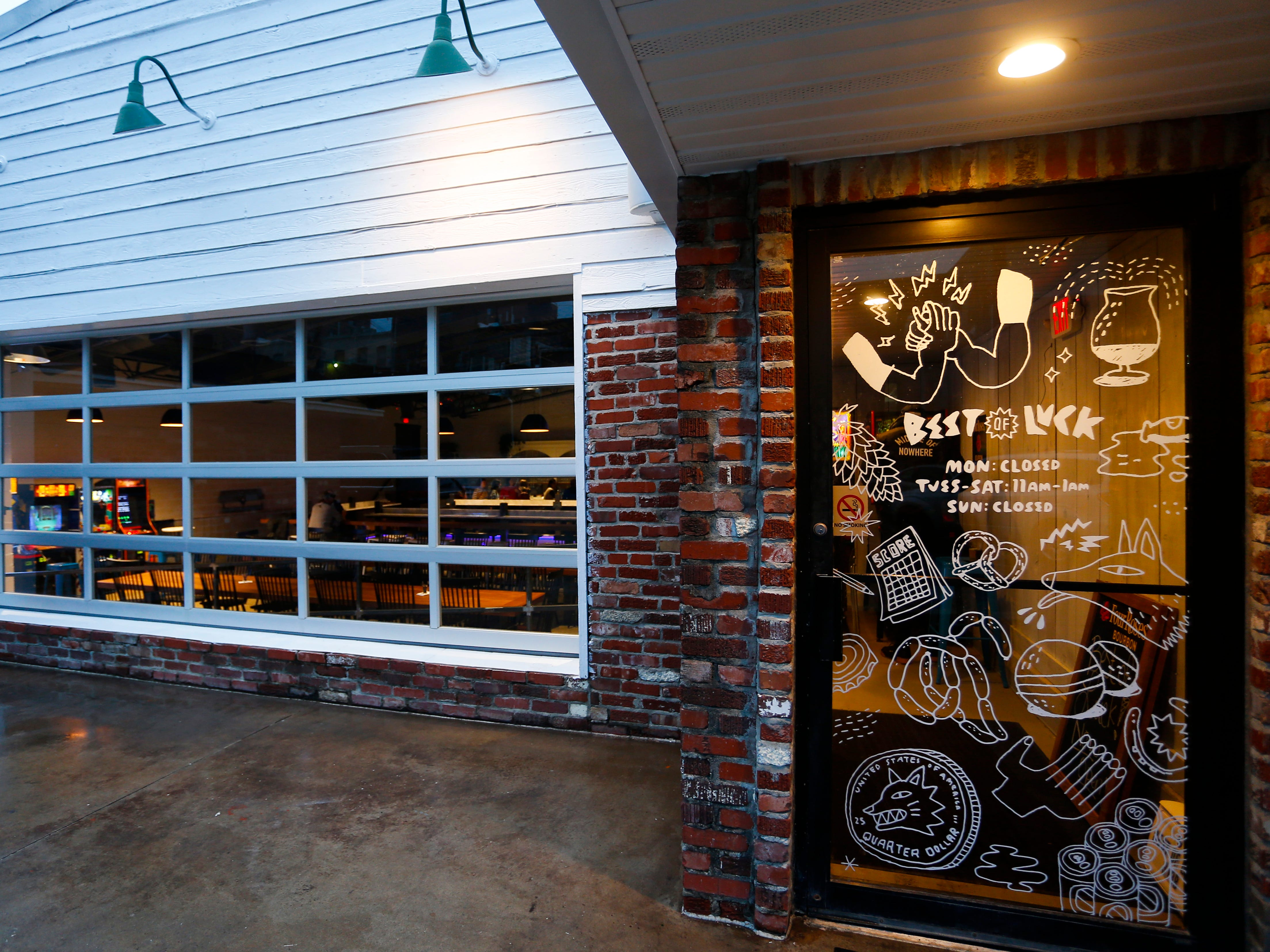 Best of Luck Beer Hall, located at 313B S.  Jefferson Ave., is a Scandinavian-style beer hall that has 40 beers on tap and opens on Friday, Feb. 8, 2019.