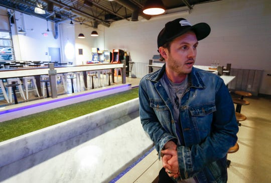 Joshua Widner, co-owner of Best of Luck Beer Hall, talks about his new Scandinavian-style beer hall that has 40 beers on tap.