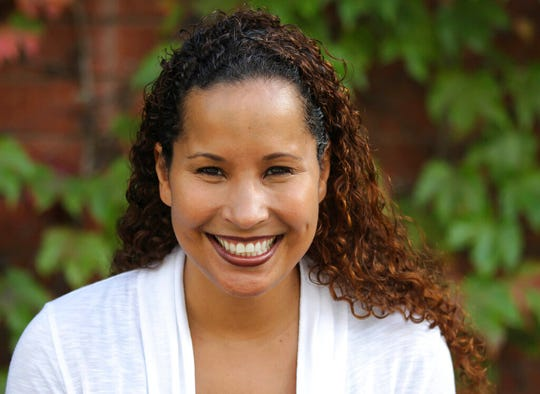In this undated photo provided by Scripps College, Vanessa Tyson, an associate professor in politics at Scripps College, poses for a photo. Tyson, a 42-year-old political science professor who studies the intersection of politics and the #MeToo movement, went public with her sexual assault accusation against Virginia Lt. Gov. Justin Fairfax on Wednesday, Feb. 6, 2019, saying in a statement that she repressed the memory for years but came forward in part because of the possibility that Fairfax could succeed a scandal-mired governor.